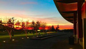 Sammamish Commons Sunset