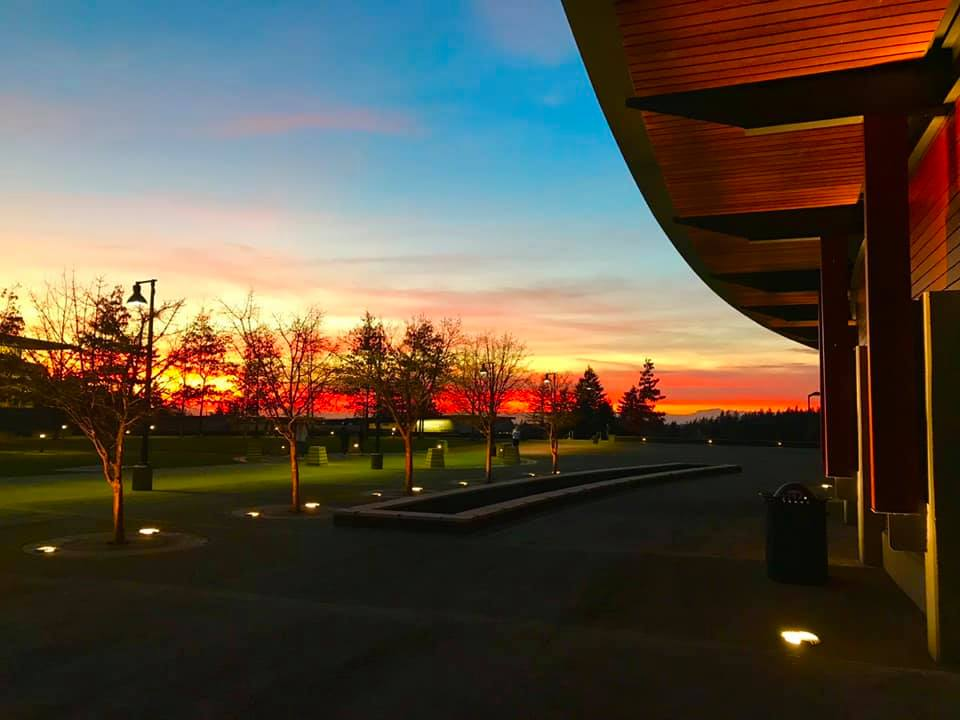 Sammamish Commons Sunset