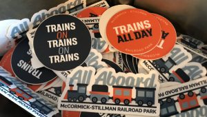 Railroad Park stickers