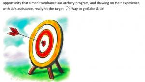 Archery pun