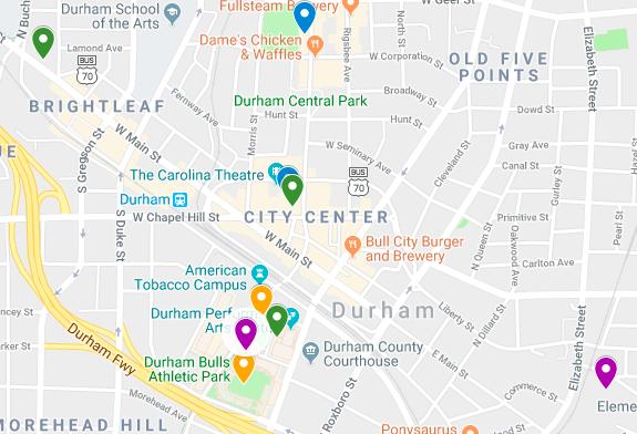 ELGL19 Locations & Maps – ELGL