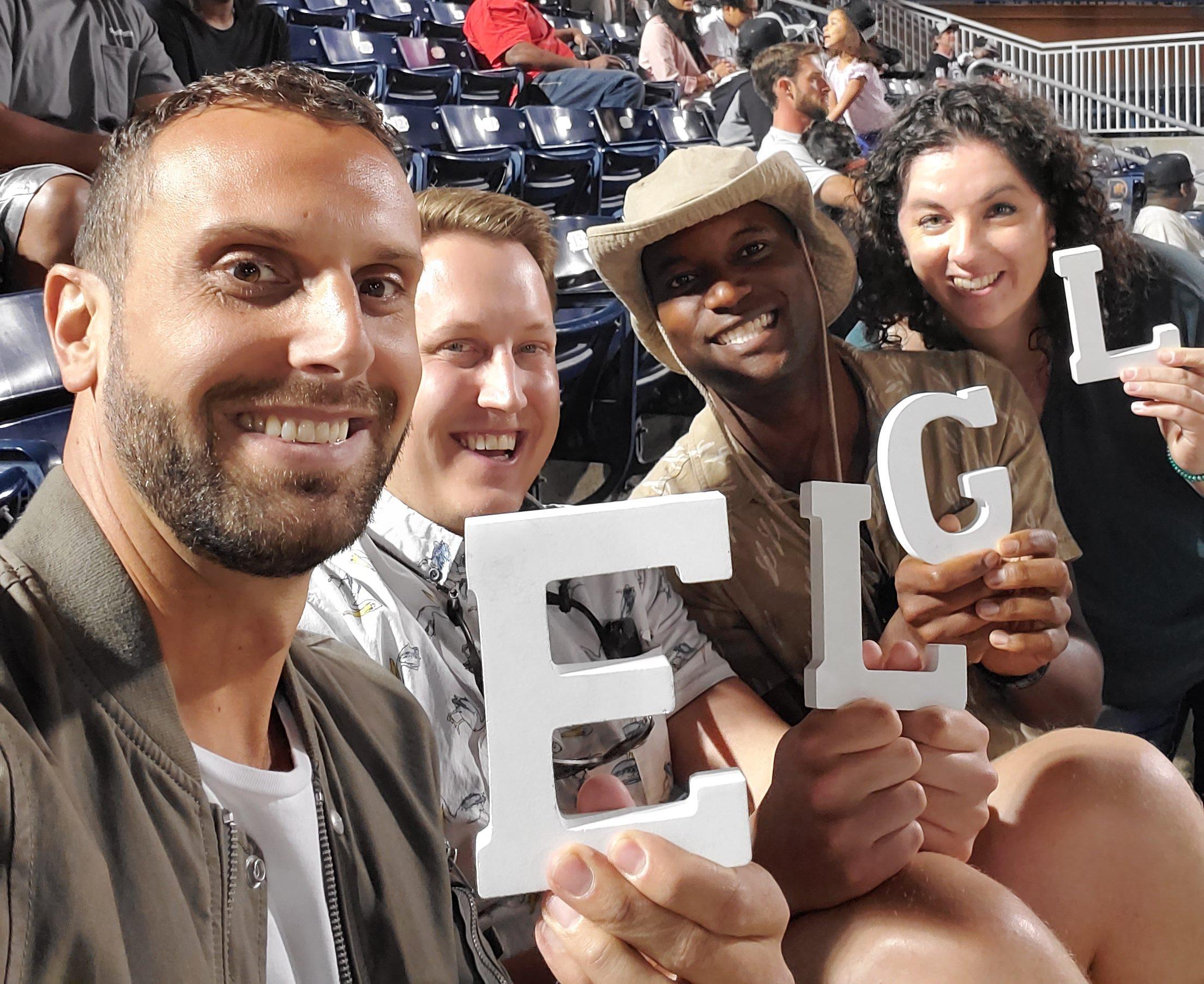 ELGL Letters at Baseball
