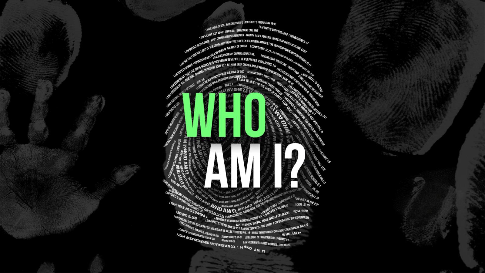 who am I thumbprint