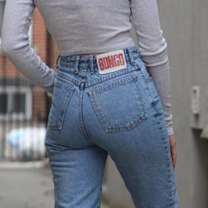 Bongo jeans from the 1990's