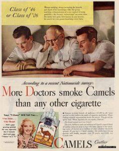 Old Camel cigarette ad