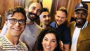 """Queer Eye"" cast at Kansas City, MO, City Hall"