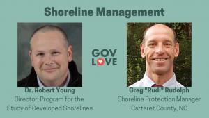 Shoreline Management Robert Young Greg Rudolph