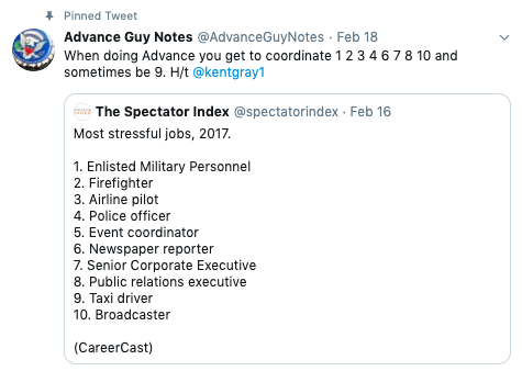 Image of tweet by @AdvanceGuyNotes on Twitter