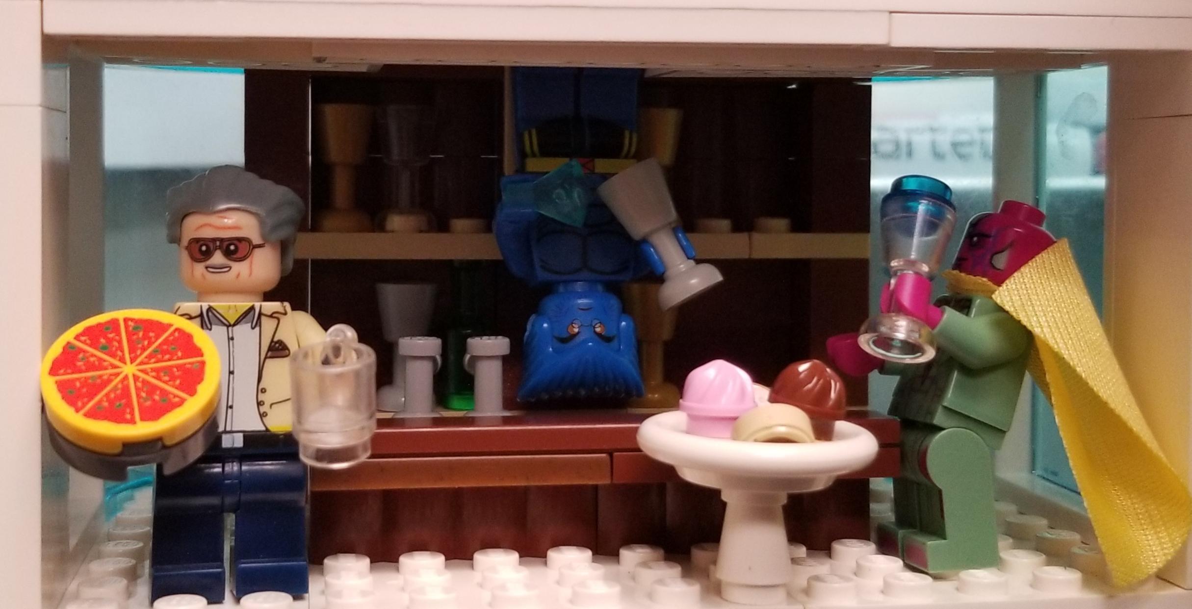Lego Stan Lee