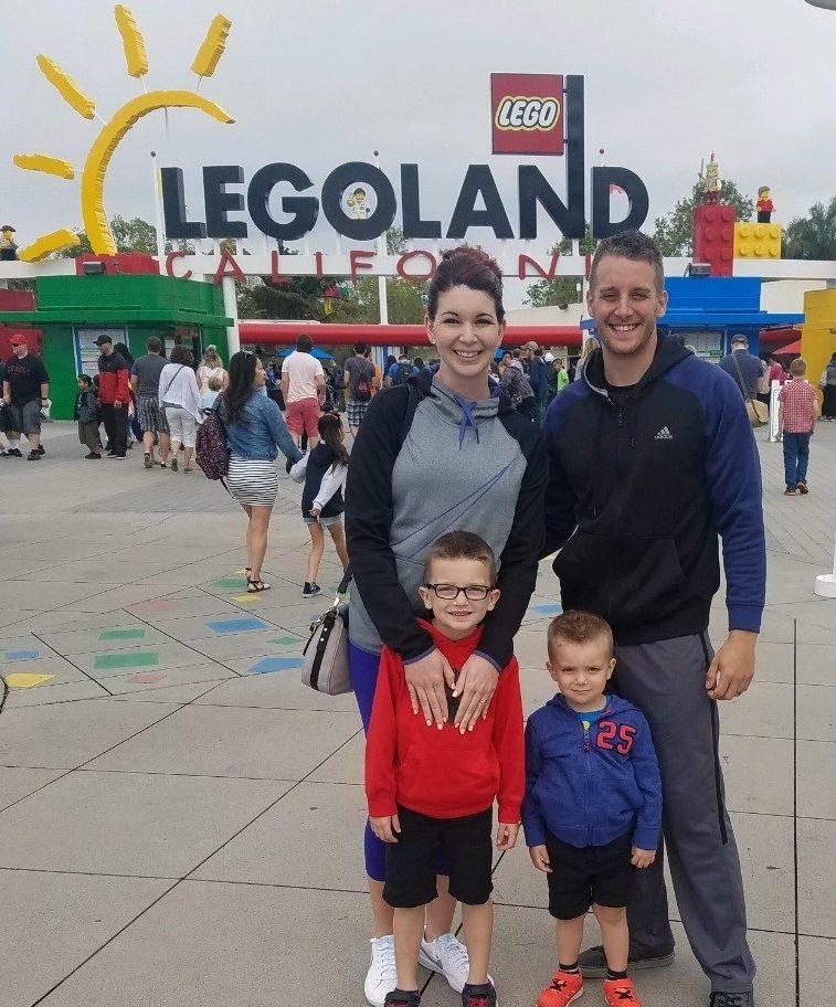 Legoland with Fam