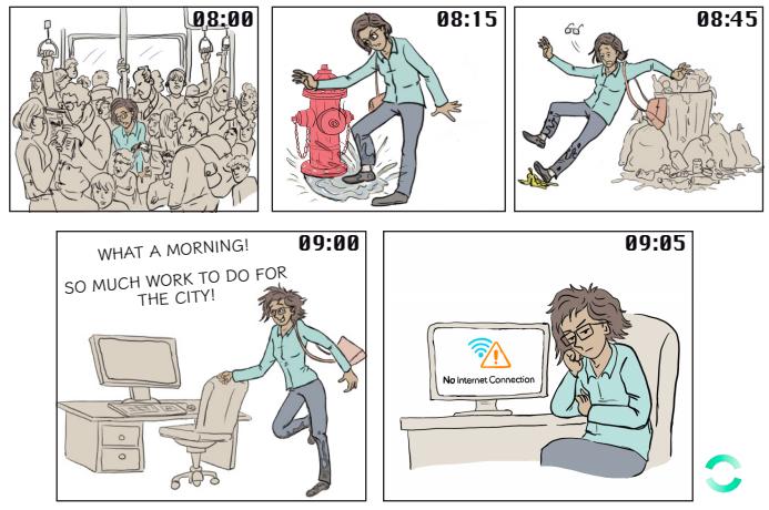 Zencity comic