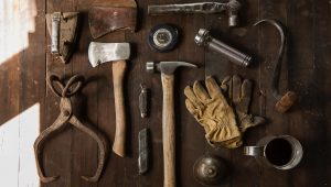 Tools in a toolkit