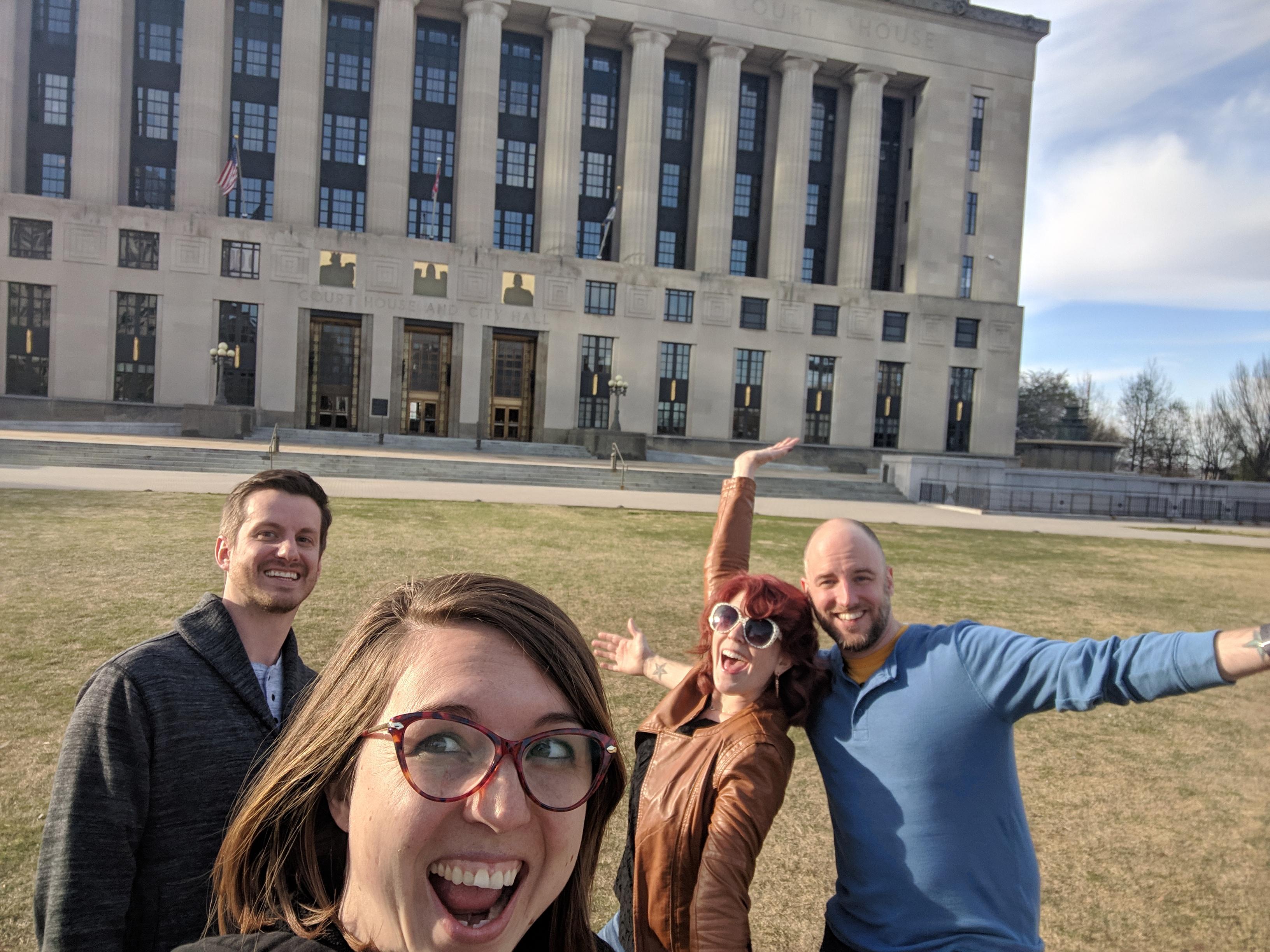 City Hall Selfie in Nashville