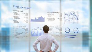 Digitized financial report