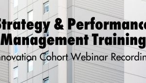 Strategy and Performance Management Training