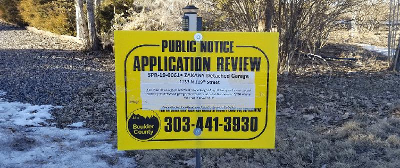 Boulder Public Notice