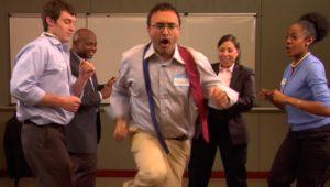 office dance
