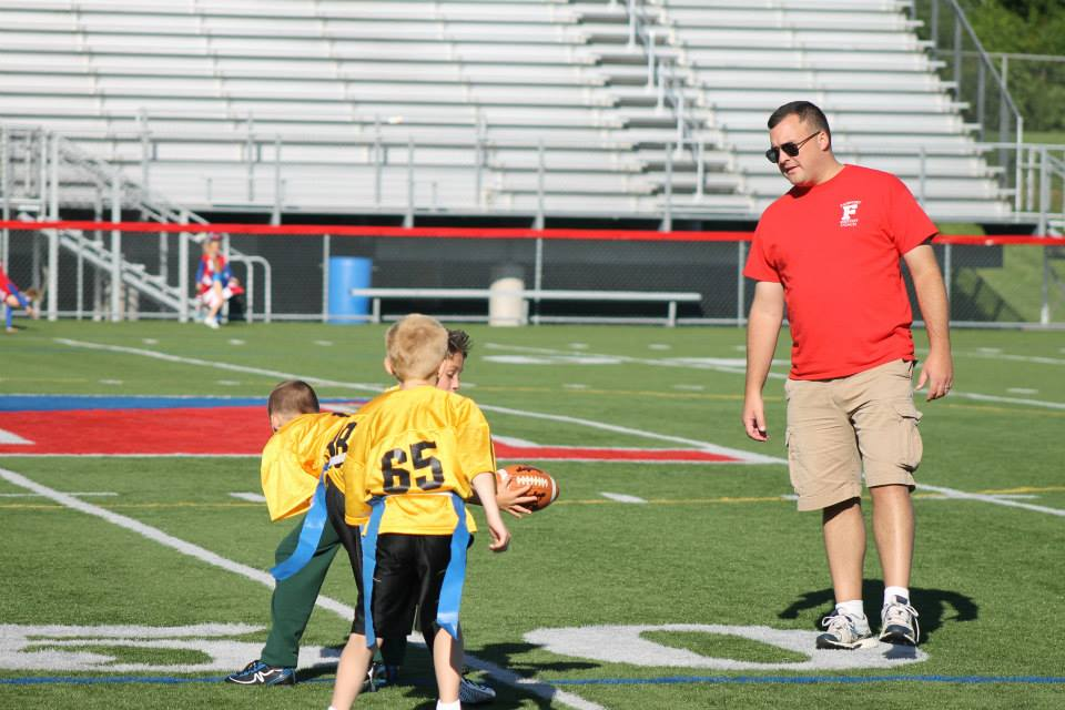 Matt's first consulting job. OL Coach, Fairport Packers