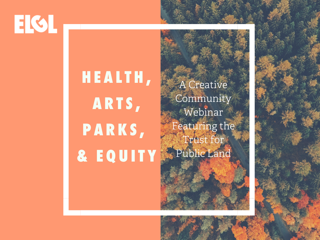 health arts parks and equity
