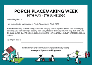 porch placemaking