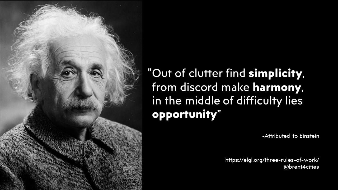 Quote with Albert Einstein