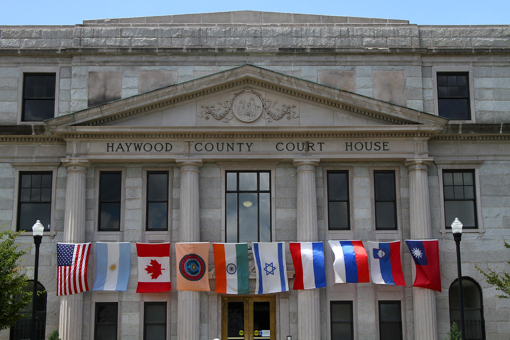 Courthouse Flags