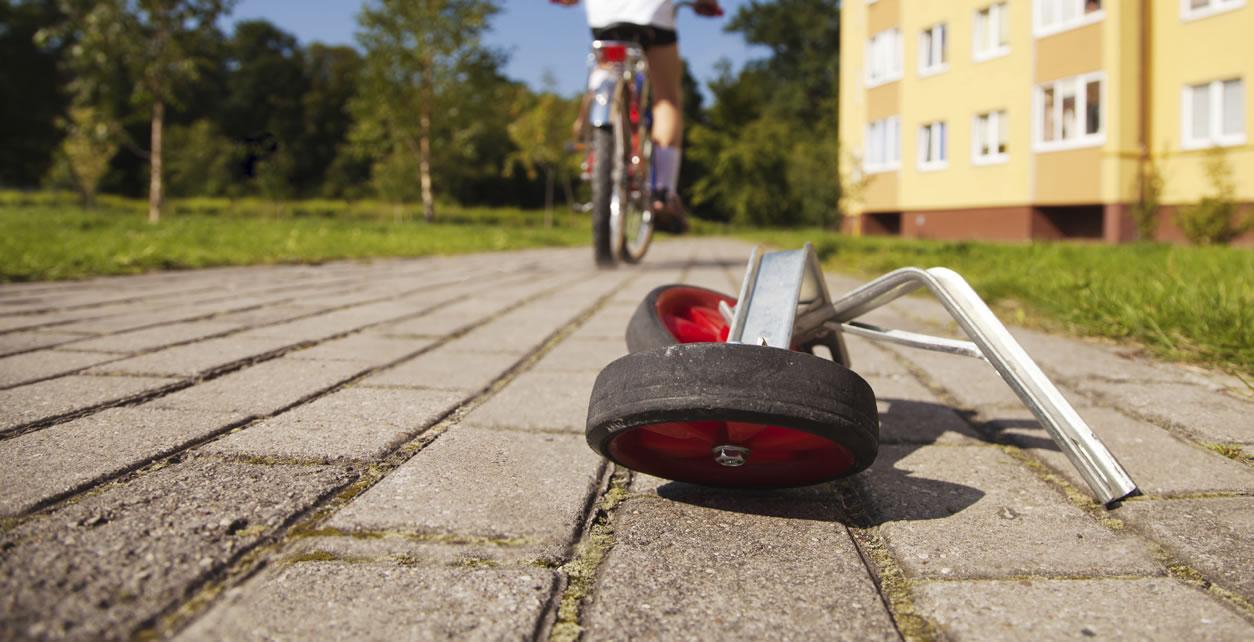 Training Wheels off