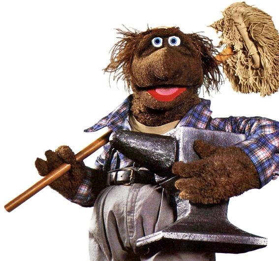 Beauregard the Muppet