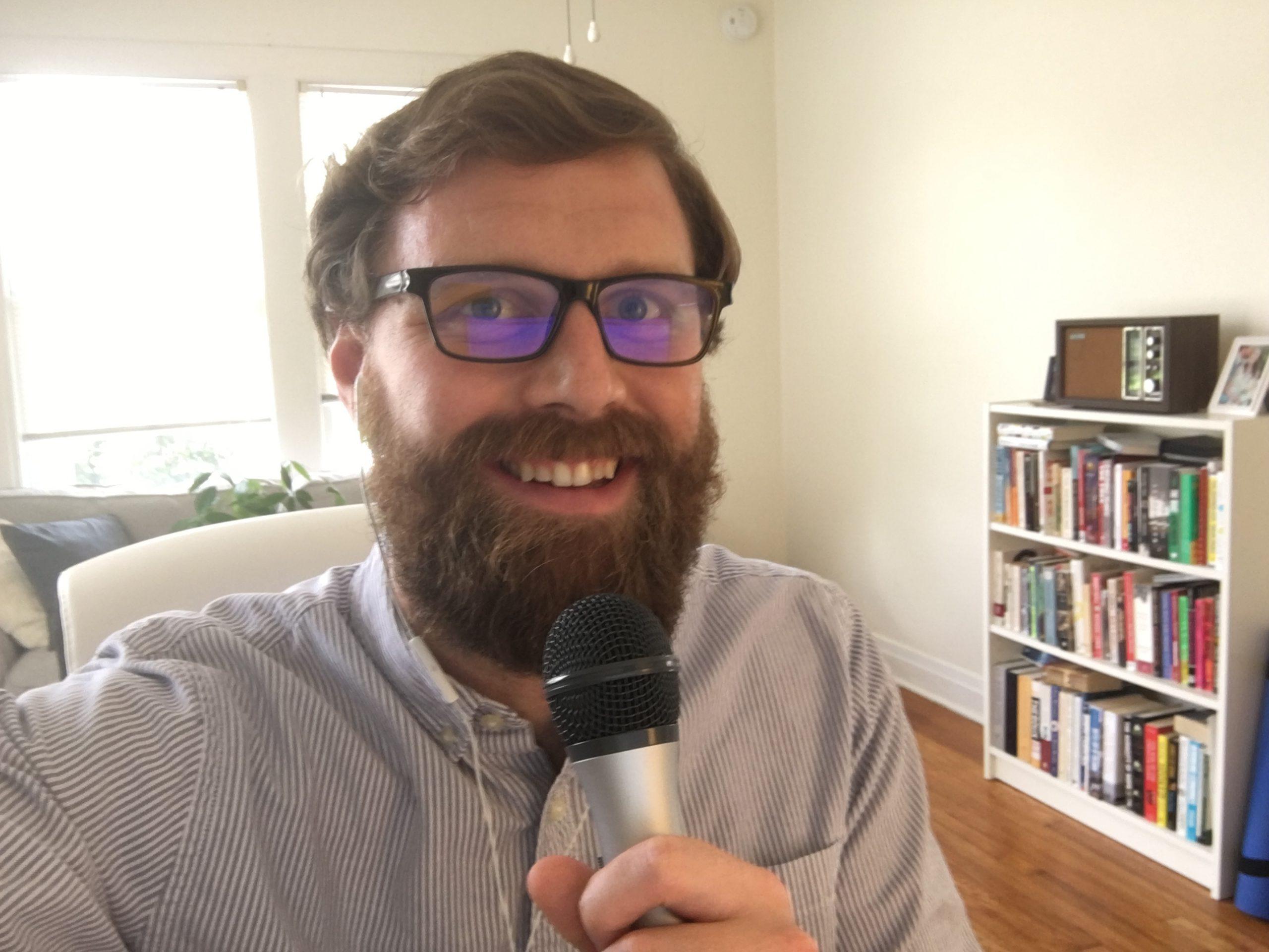 Ben Kittelson podcasting