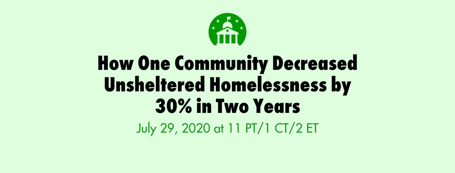 homelessness webinar