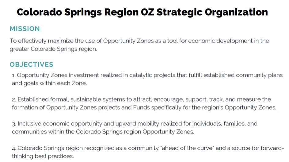 Opportunities Zones