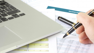 Budgeting paperwork