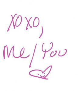 xoxo, me/you