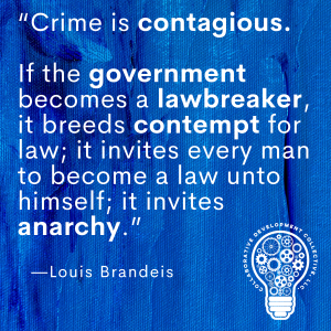 Crime is contagious