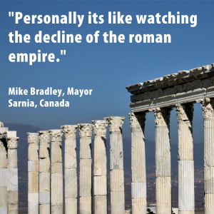 Quote from Canadian Mayor