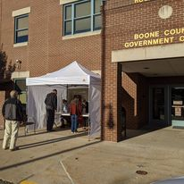 absentee voting in Boone County