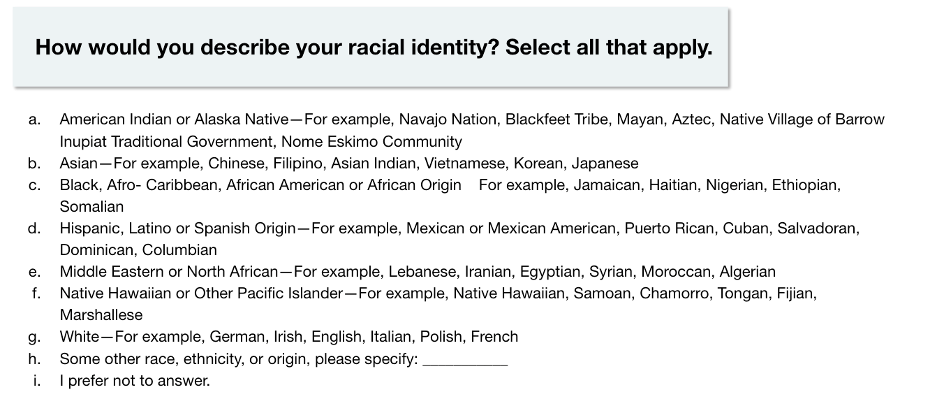 Race and ethnicity 2