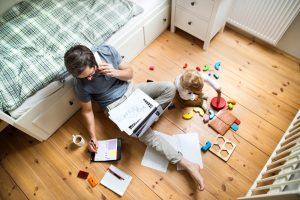 balancing job with kids