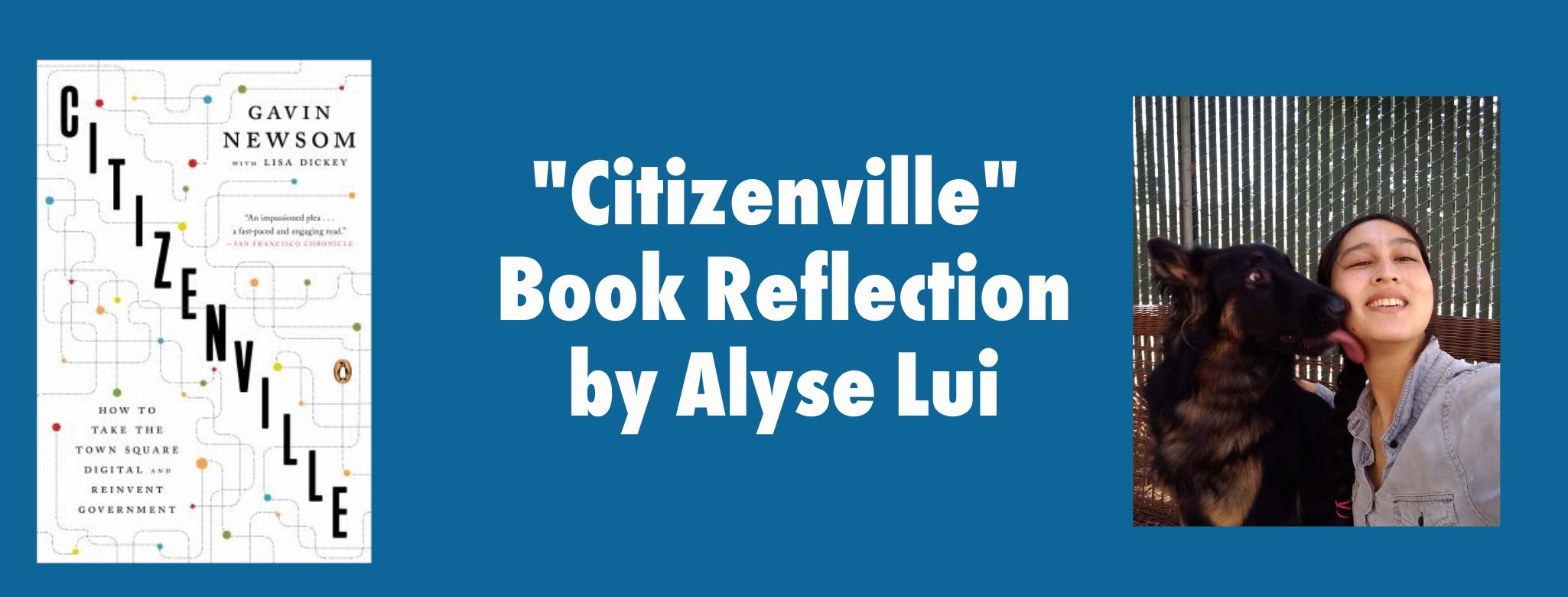 Citizenville Book Reflection