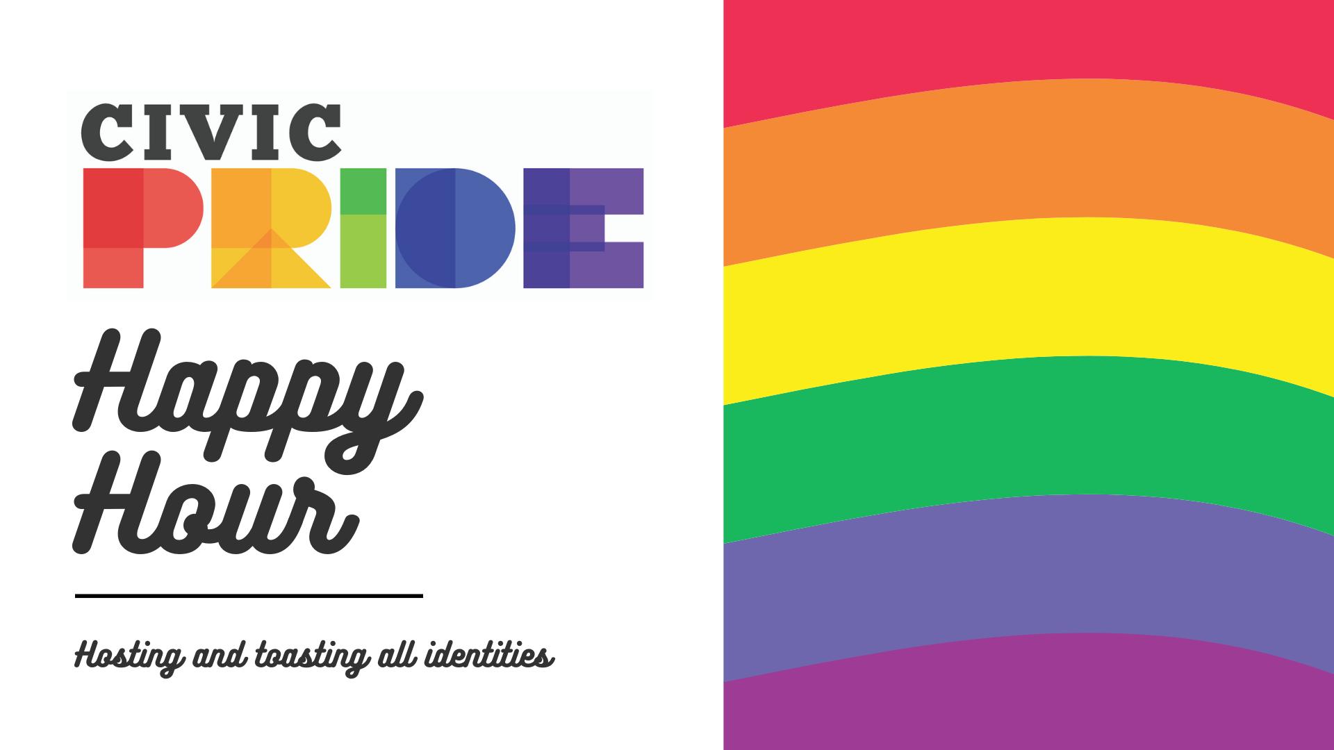 CivicPride Happy Hour Graphic
