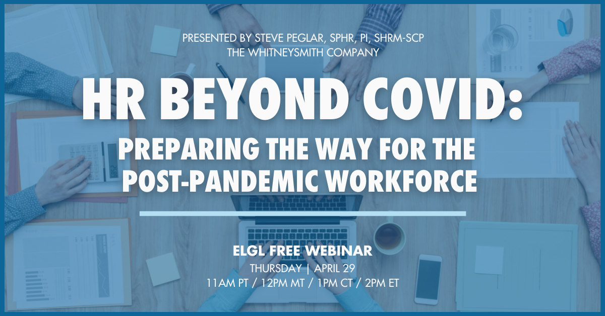 HR Beyond Covid Webinar stock photo