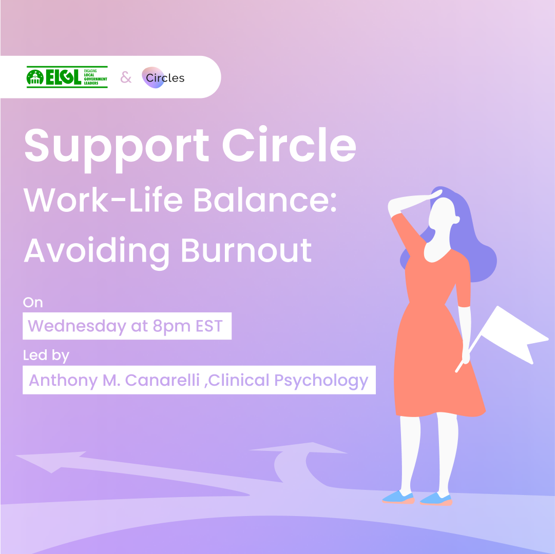 Support circle for Work-Life Balance and Avoiding Burnout