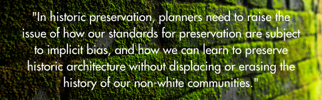 historic preservation and equity