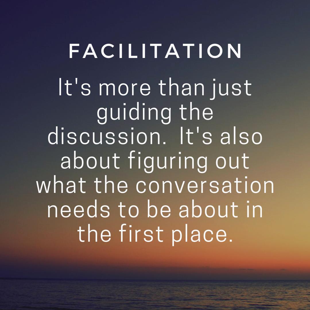facilitation quote