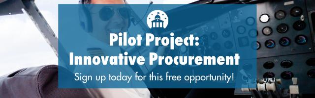 Pilot program: innovative procurement