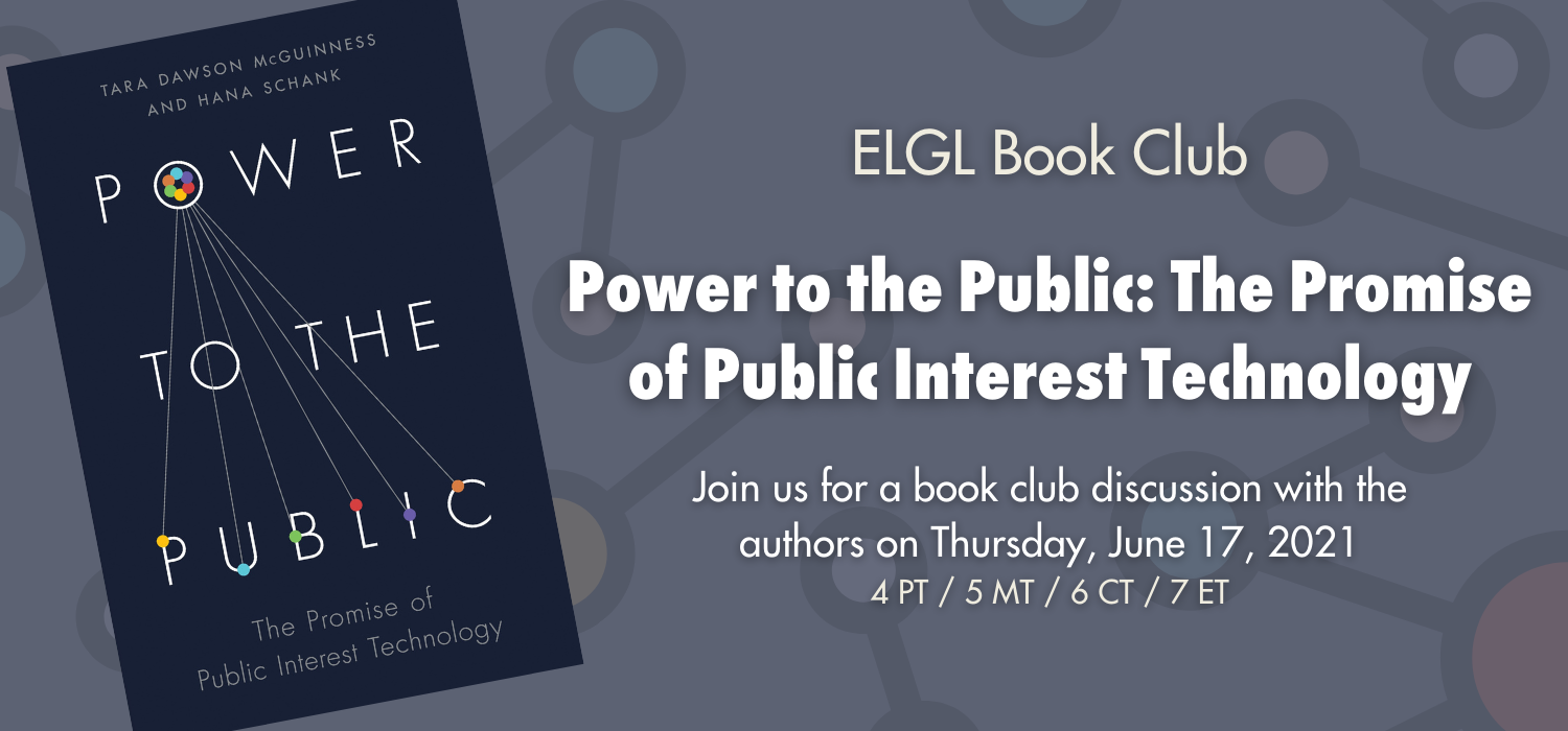 June Book Club - Power to the Public