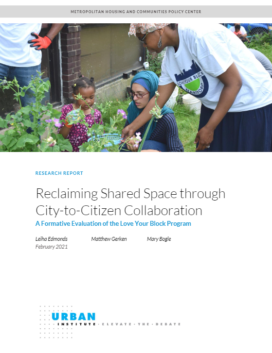 Reclaiming Shared Spaces Report Cover