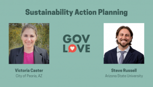 Victoria Caster and Steve Russell - GovLove