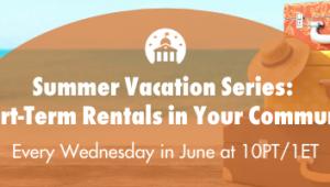 Summer Vacation Rentals Header