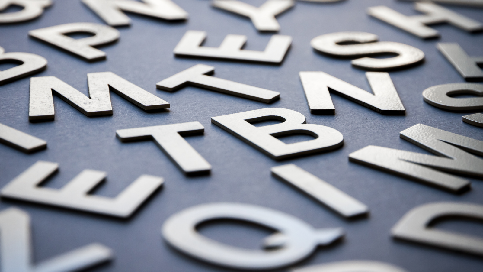 picture of letters